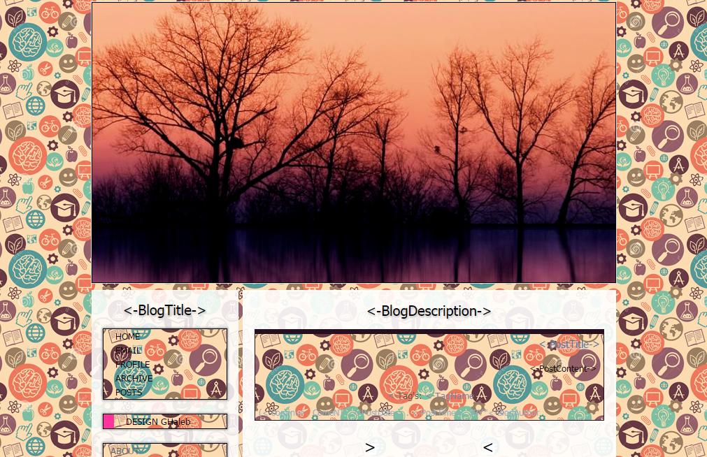 قالب بسیار زیبا برای بلاگفا و لوکس بلاگ